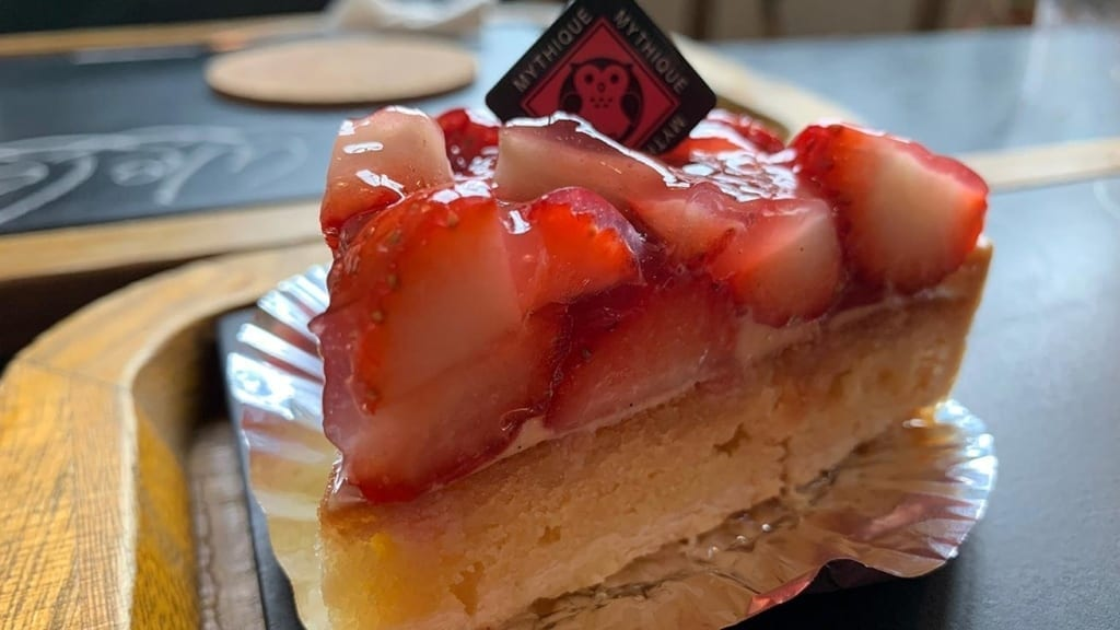 cokoguri - Patisserie Mythique - Strawberry Tart
