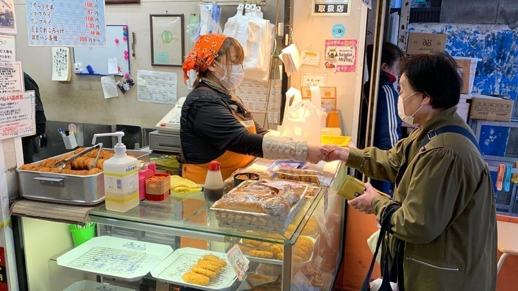 cokoguri - Sendai's Kitchen - Asaichi Morning Market - Croquettes
