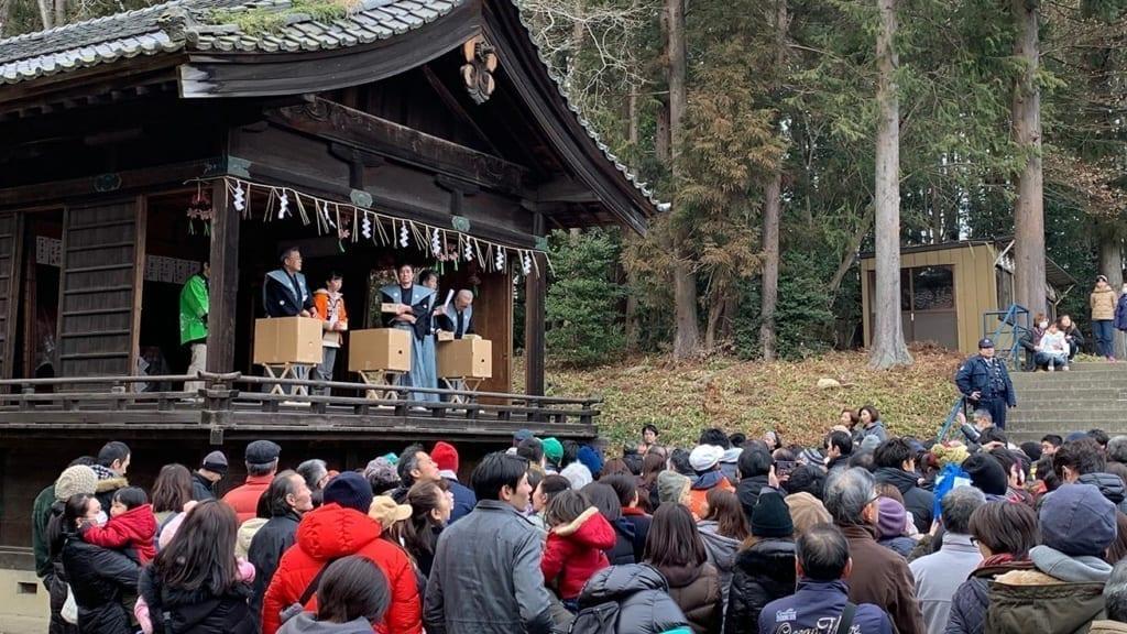 cokoguri - Setsubun Festival at Toshogu Shrine - Time to Toss Beans