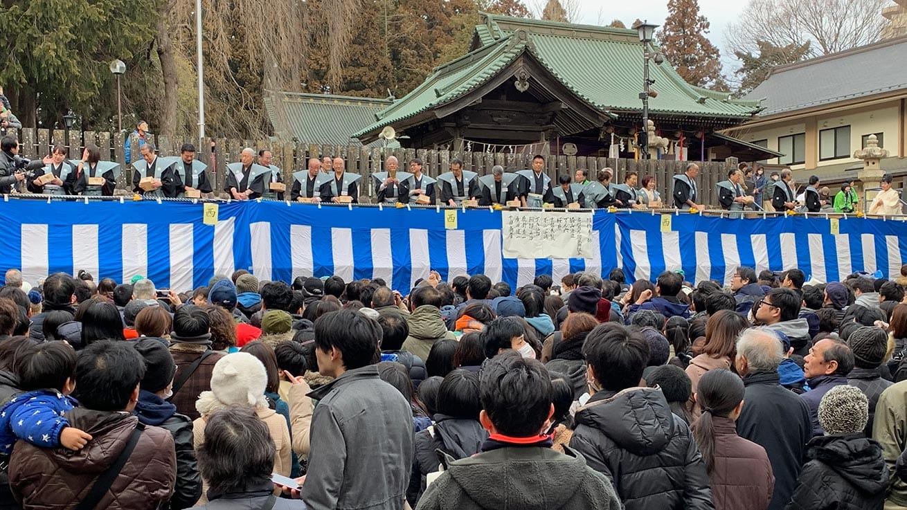 cokoguri - Setsubun Festival at Toshogu Shrine