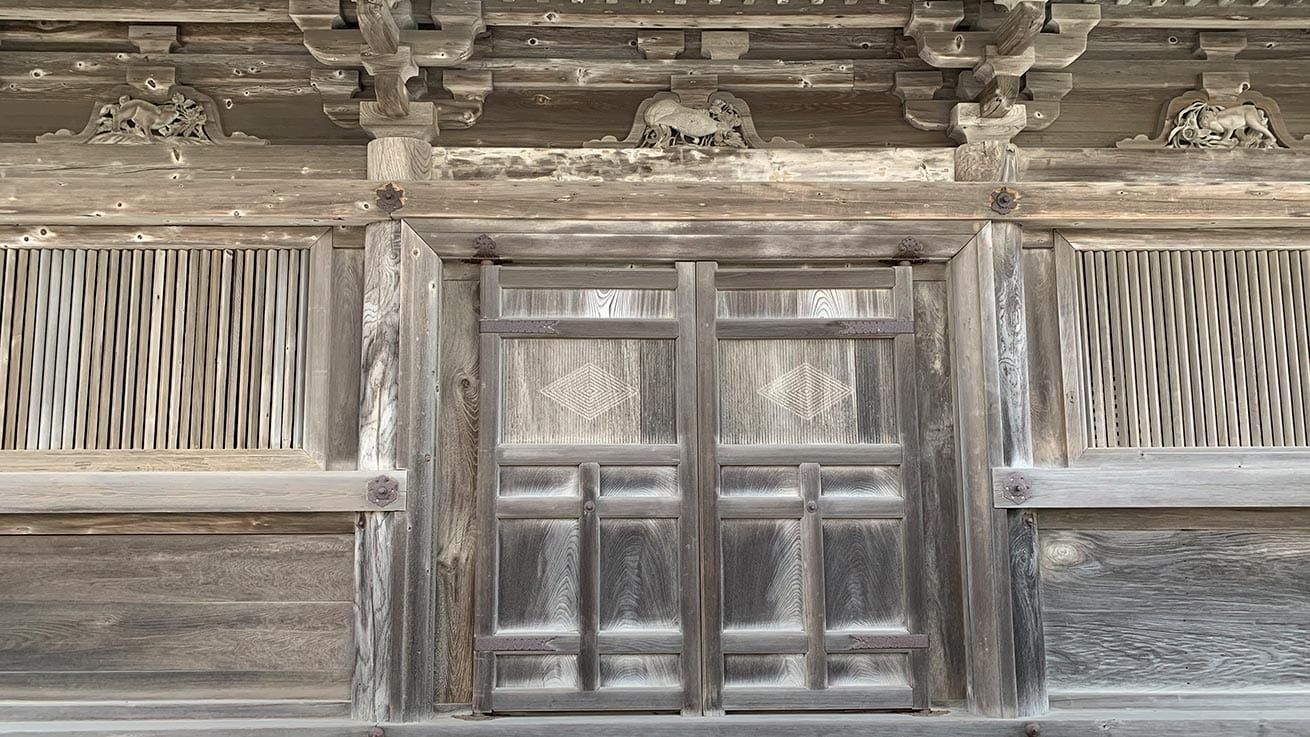 cokoguri - Godaido Temple Gate