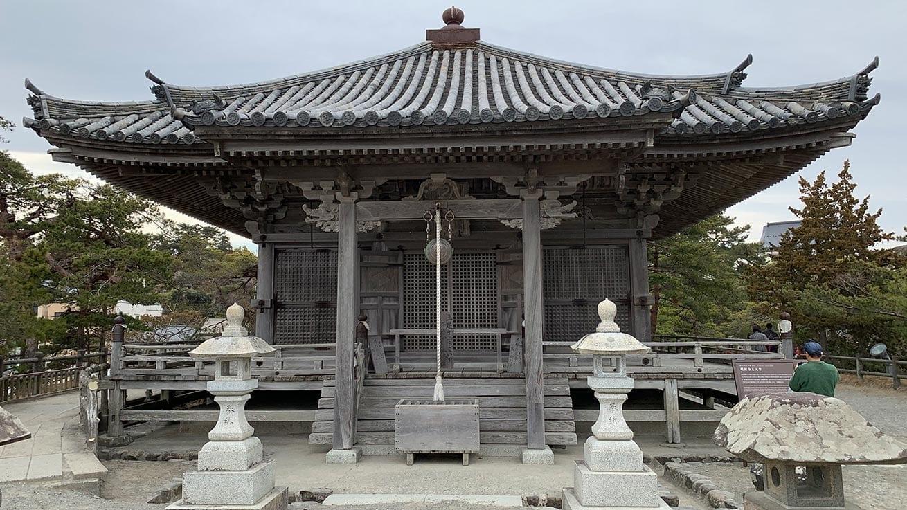 cokoguri - Godaido Temple