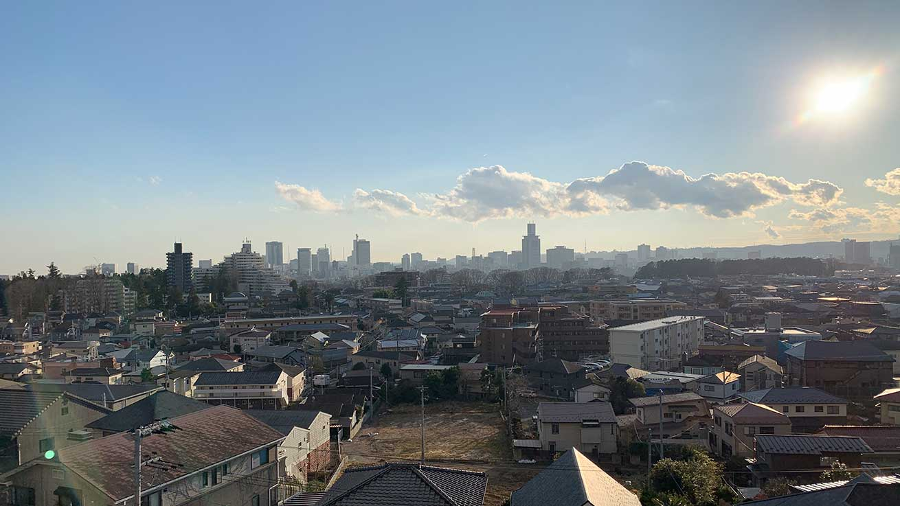 cokoguri - A Territorial View of Sendai City Center