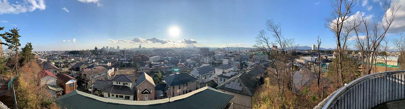 cokoguri - A Territorial View of Sendai Panorama