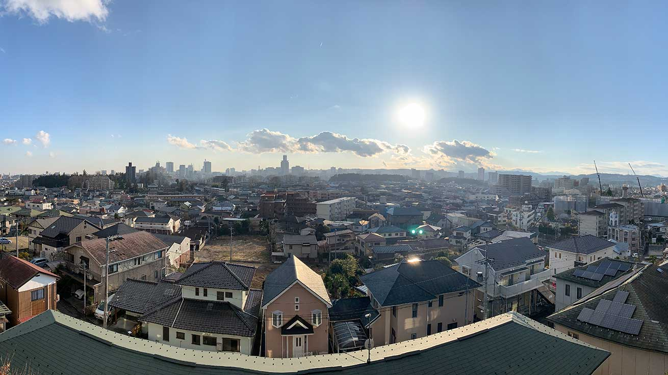 cokoguri - A Territorial View of Sendai