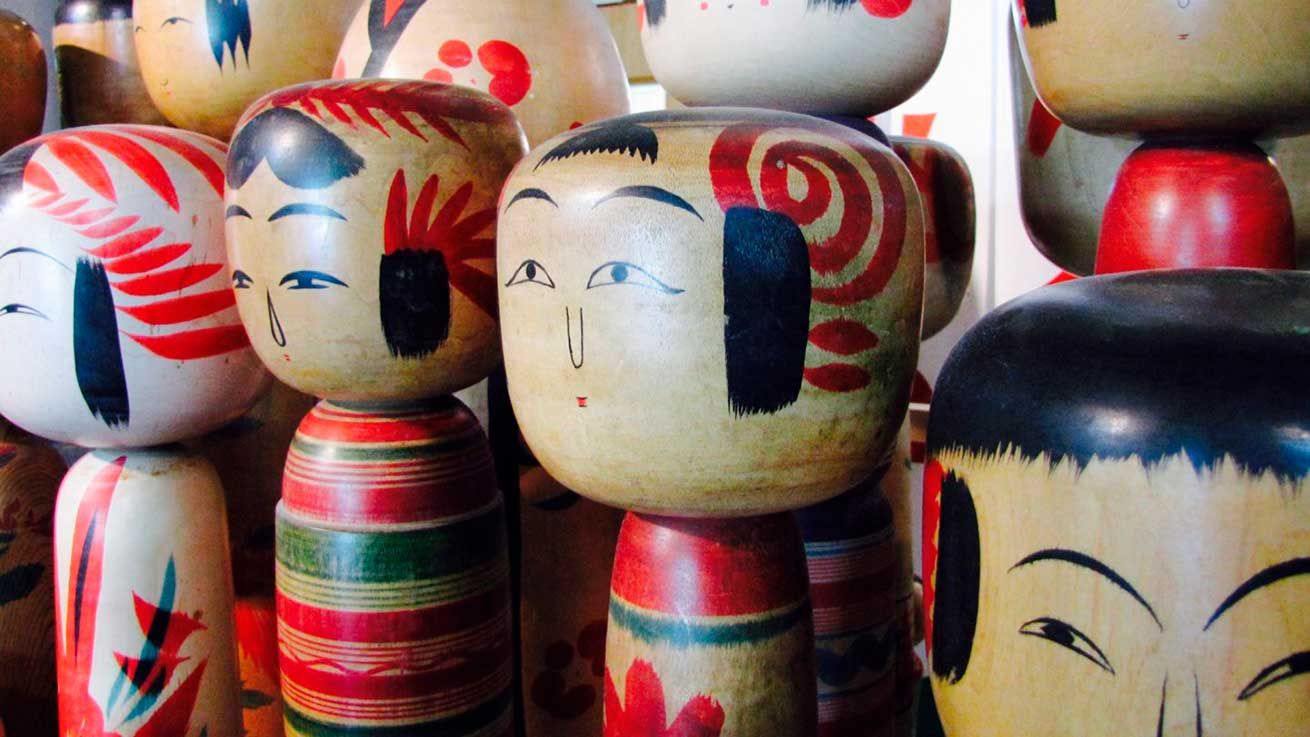 cokoguri - Kokeshi Dolls
