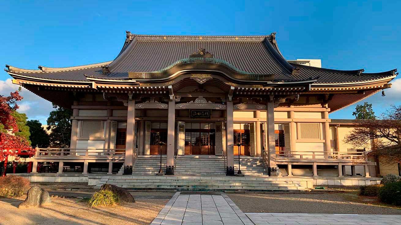 cokoguri - Kosho-ji Temple Main Temple Building