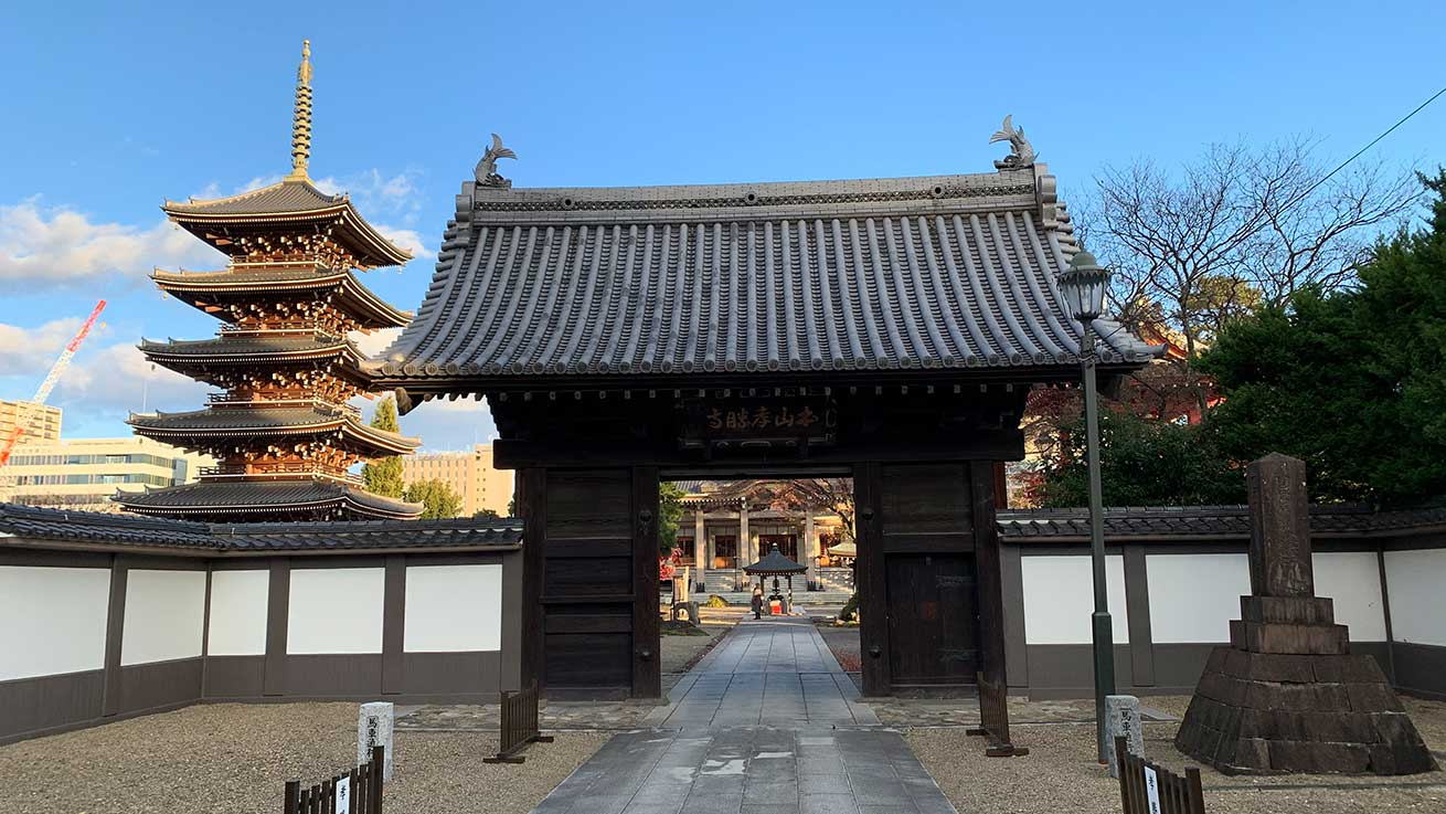 cokoguri - Kosho-ji Temple Gate and Pagoda