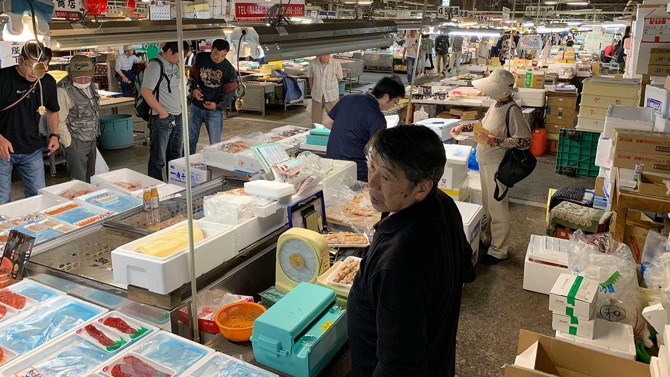 cokoguri - Shiogama Seafood Wholesale Market - Vendors