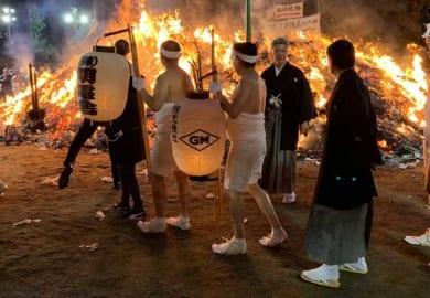 cokoguri - Osaki Hachimangu Dontosai Festival - Hadakamairi Pilgrims
