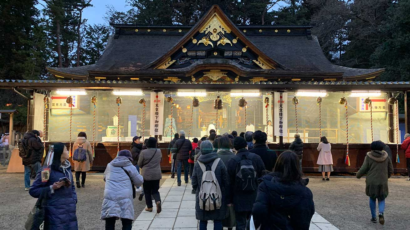 cokoguri - Osaki Hachimangu Dontosai Festival - Honden