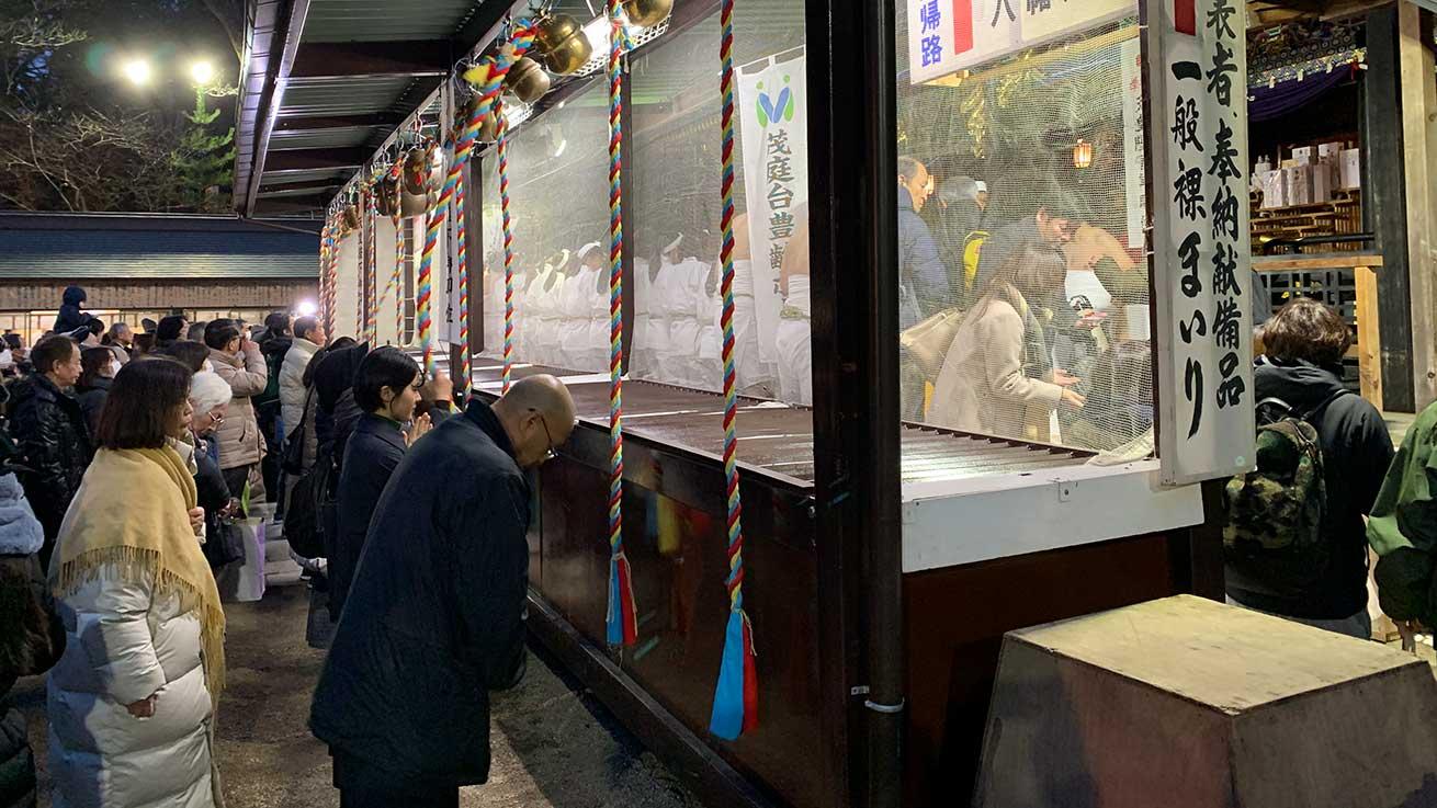 cokoguri - Osaki Hachimangu Dontosai Festival - Prayers