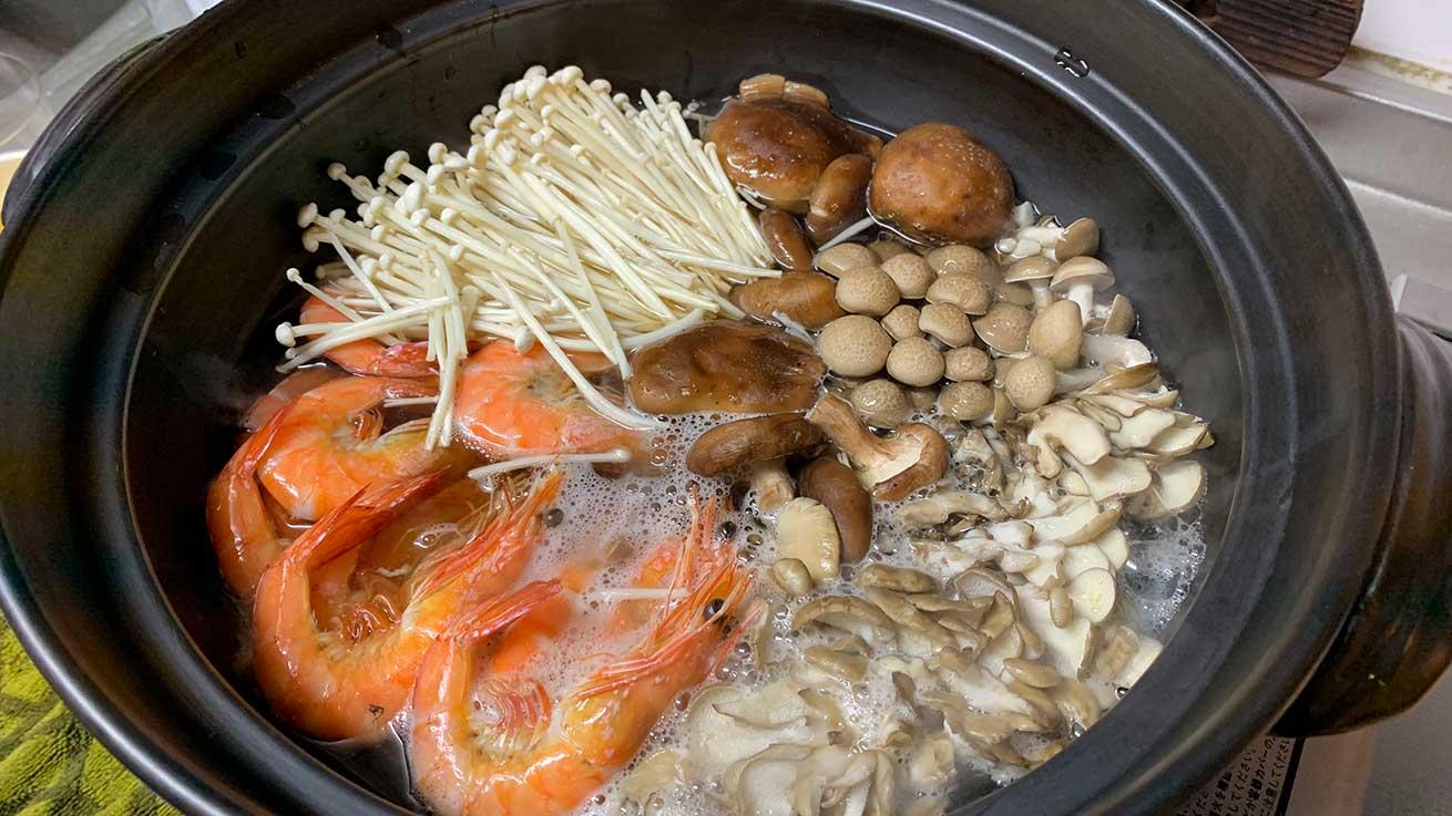 cokoguri - Osechi Ryori Seafood and Mushroom Nabe
