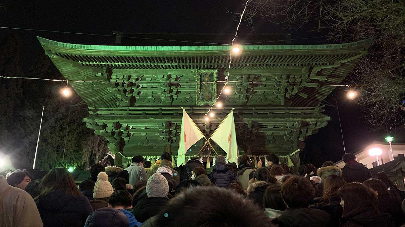 cokoguri - Oshogatsu Hatsumode Approaching the Main Gate at Toshogu Shrine