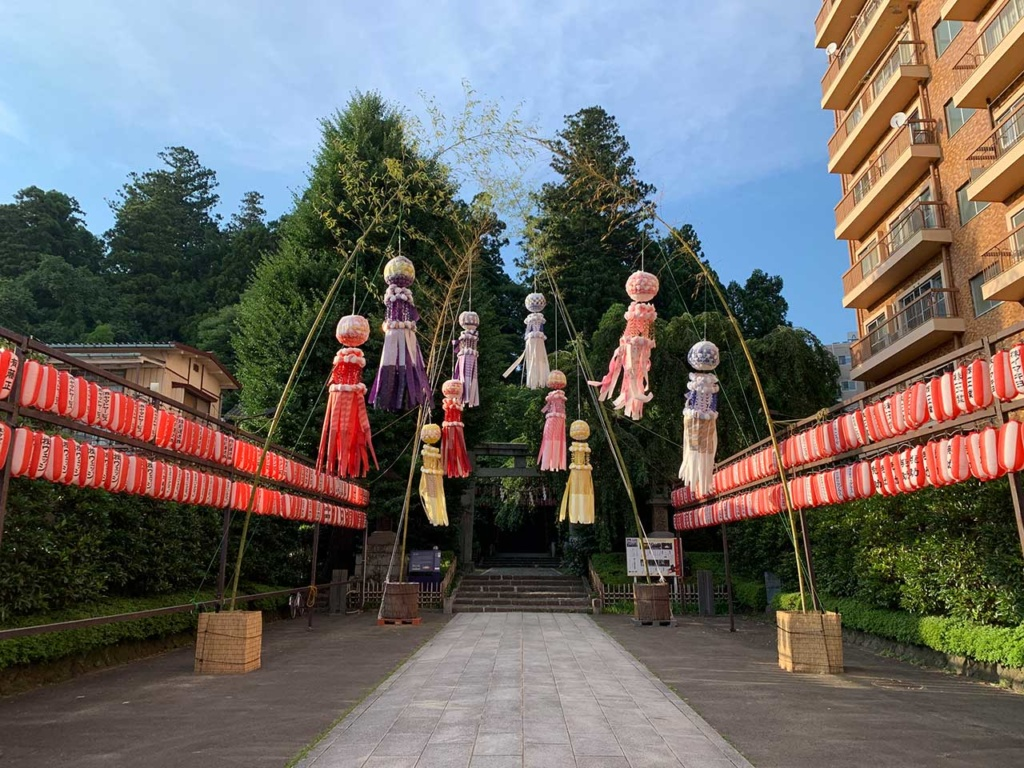 cokoguri - Tanabata at Osaki Hachimangu Shrine in Sendai
