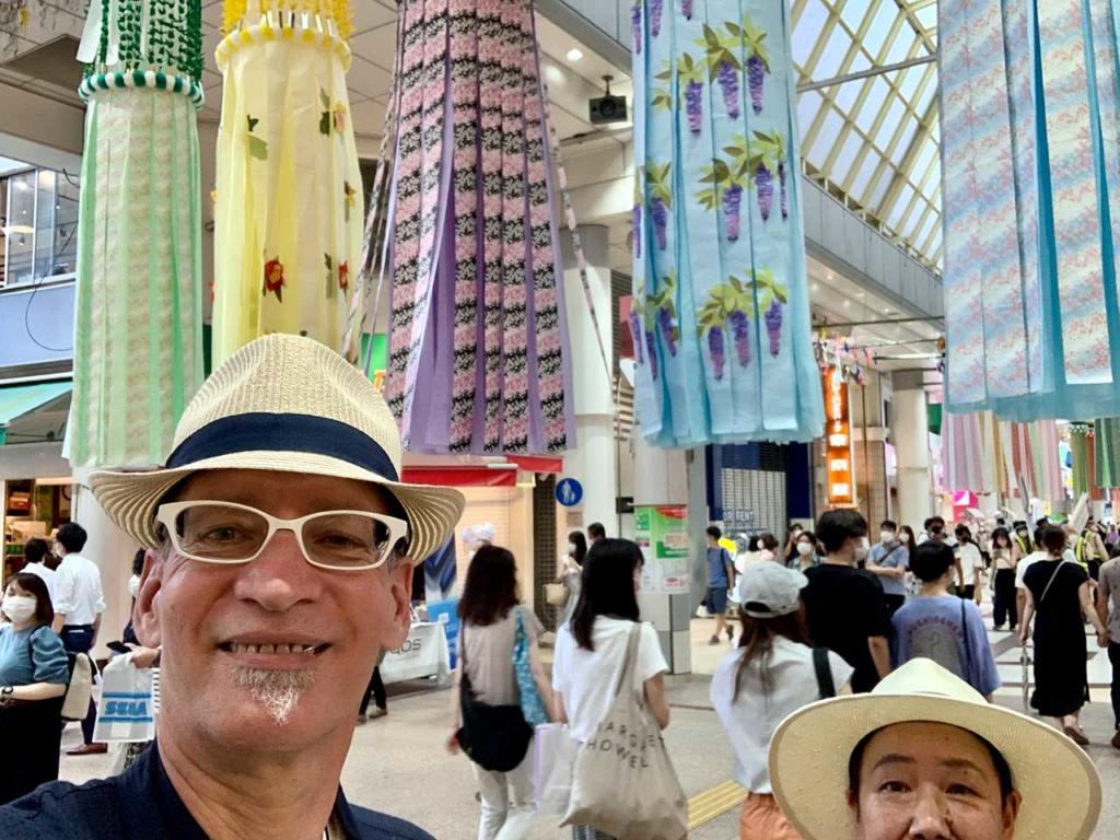 cokoguri at the 2021 Sendai Tanabata Festival